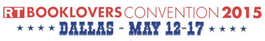 RT Booklovers Convention Dallas 2015