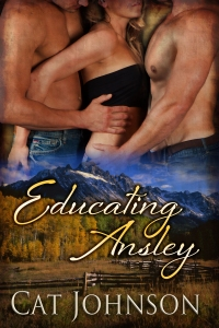 EducatingAnsley A red hot menage with cowboys by Cat Johnson