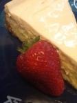 Sliced Cheesecake