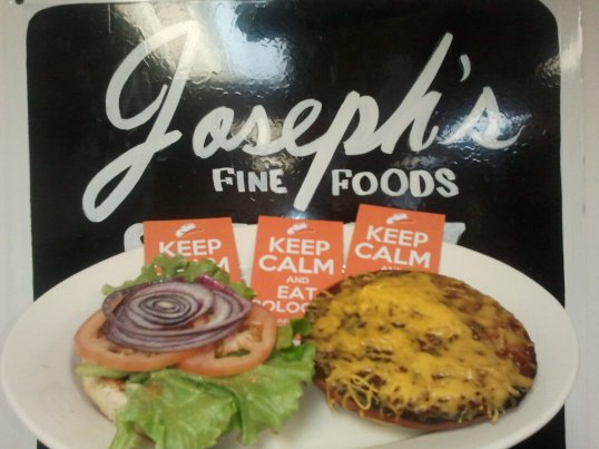 Josephs Fine Foods Fried Bologna Sandwich Cat Johnson Magnet