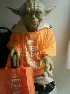 Yoda Likes Joseph's Fried Bologna