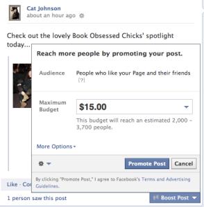 Boost FB Post
