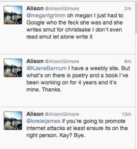 Alison Gilmore Plagiarist