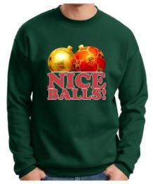 Nice Balls! Christmas Sweater