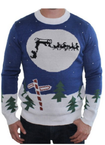 Sleigh Ugly Christmas Sweater