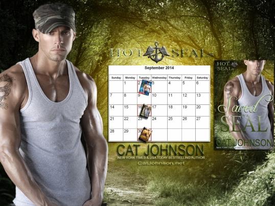 September 2014 desktop Calendar wallpaper