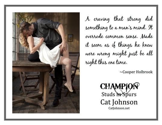 Champion Craving Quote