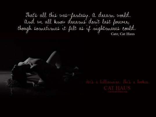 Dreams Quote Cat Haus